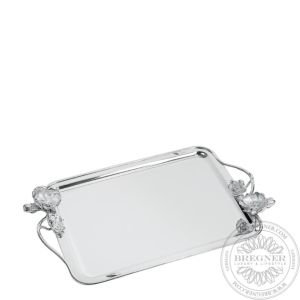 Rectangular Tray with Handles 43 cm