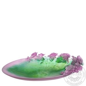 Pink & green magnum bowl Rose Passion 61 cm
