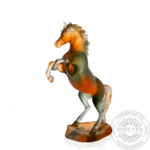 Amber Grey Spirited Horse 37 cm