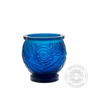 Medium Blue Vase Empreinte 25,5 cm