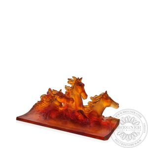 Amber Pencil Holder 25 cm