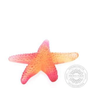 Amber red starfish 11 cm