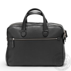 Briefcase with two compartments 42 cm