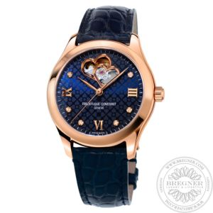 Ladies Automatic Double Heart Beat Uhr