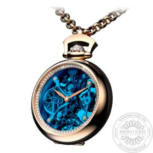 Brilliant Pocket Watch Pendant