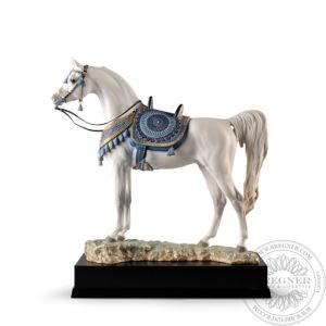 Arabian Pure Breed Horse Sculpture. Limited Edition