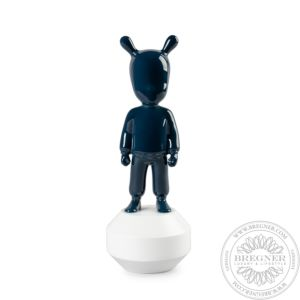 The Dark Blue Guest Figurine. Small Model