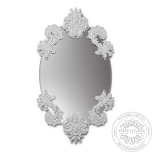 Oval Mirror Without Frame (White)