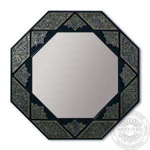 Arabesque Eight Sided Mirror