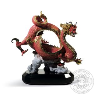 Auspicious Dragon (Red)