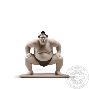 Sumo fighter Figurine