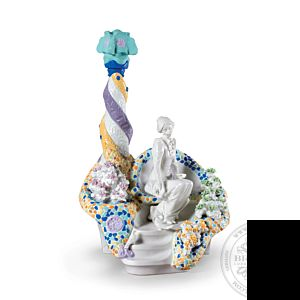 Gaudi lady Woman Figurine. Limited Edition 46 cm