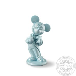 Mickey Mouse Figurine. Blue