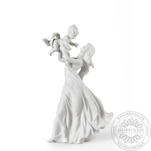 My Little Sweetie Mother Figurine. Matte White