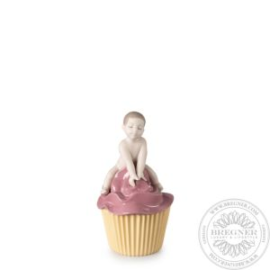 My Sweet Cupcake. Boy Figurine