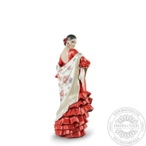 Flamenco Soul Woman Figurine