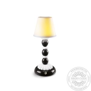 Palm Firefly Table Lamp. Black and White