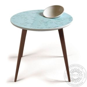 Crystal Moment Table. With bowl. Wenge