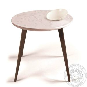 Frost Moment Table. With bowl. Wenge