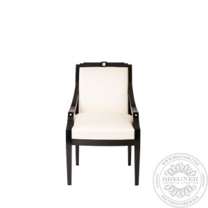 Masque de Femme classic chair with arms