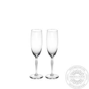Set of 2 Champagne glasses 100 POINTS