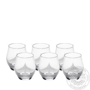 Set of 6 tumblers 100 POINTS