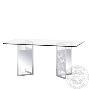 Merles et Raisins pair of reflective trestles