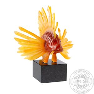 Lionfish Lost Wax Sculpture 45 cm