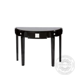 Masque de Femme half moon console table
