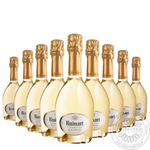 Champange Blanc de Blancs in gift box, Set 12x0,375L