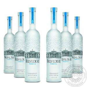 Vodka Belvedere, Set 6x0,7L