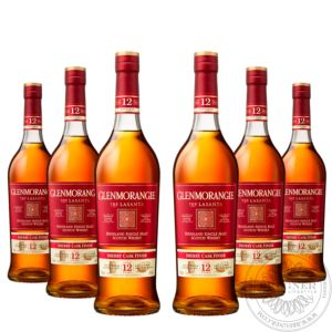 Whisky Lasanta 12 YO, Sherry Cask Extra Matured in Geschenkpackung, Set 6x0,7L