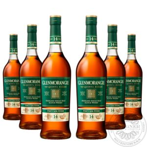 Whisky Quinta Ruban 12 YO, Port Cask Extra Matured in Geschenkpackung, Set 6x0,7L