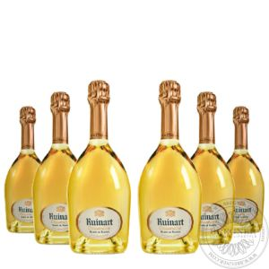 Champange Blanc de Blancs in gift box, Set 6x0,75L