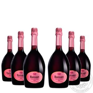Champange Rosé in gift box, Set 6x0,75L