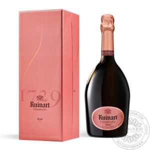 Champagne Rosé in gift box 0,75L