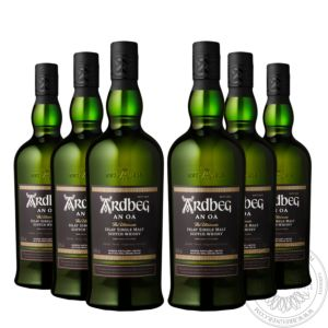 Whisky An Oa in gift box, Set 6x0,7L