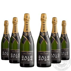 Champange Grand Vintage 2012 in gift box, Set 6x0,75L