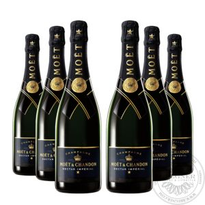 Champagner Nectar Impérial in Geschenkpackung, Set 6x0,75L