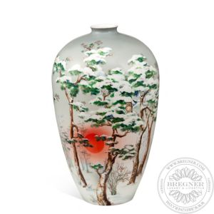 Winter Calm vase 40 cm