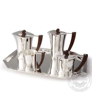 Art Deco tea-coffee service Silver