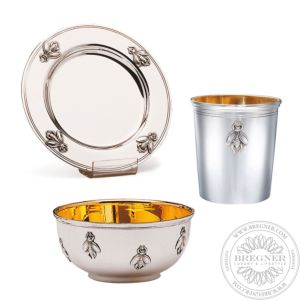 The Bee collection Silver Gilded