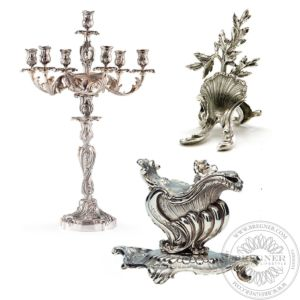 The Rocaille collection Silver