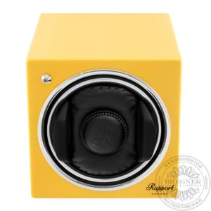 Evo Cube Watch Winder Citrus Yellow
