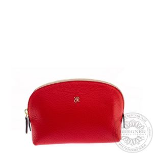 Red Small Makeup Pouch