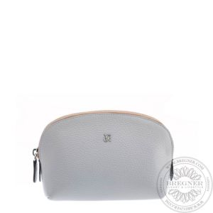 Grey Small Makeup Pouch