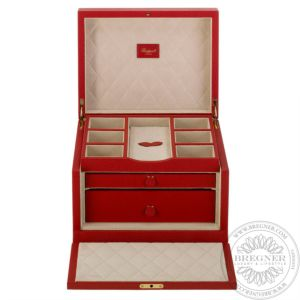 Grand Jewellery Box, Red