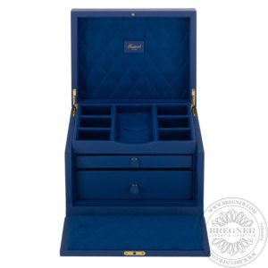 Grand Jewellery Box, Blue