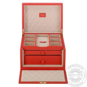 Grand Jewellery Box, Orange