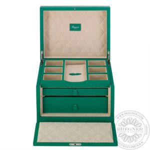 Grand Jewellery Box, Green